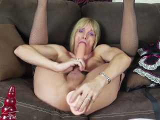 Double Dildo Break Time