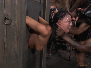Two Well Used Barn Sluts Restrained In Strict Bondage - HD 720p