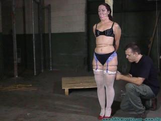 Fayth Punished with Thin Wire - Extreme, Bondage, Caning