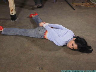 Hannah Perez Carried Groped Hogtied and Gagged Multiple Times