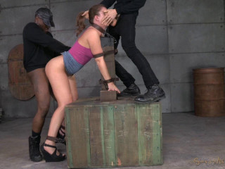 Maddy OReilly tagteamed by two dicks