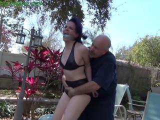 HunterSlair - Caroline Pierce - Haughty bikini clad prig over powered