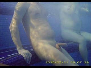 Sauna Pool Underwater Fun