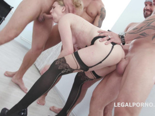 Double Anal Gangbang Festival For Madison Lush