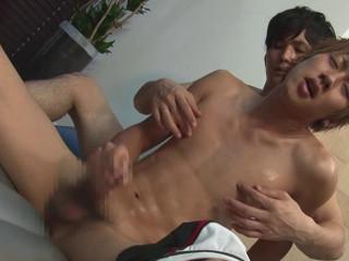 Raw erotic boy with fiery