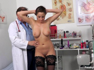 Emilia (19 years girls gynecology exam)