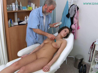 Anabelle Twenty-one years lady obgyn examination (2016)