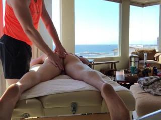 Big C Gets Massage With Happy Ending On Top Floor