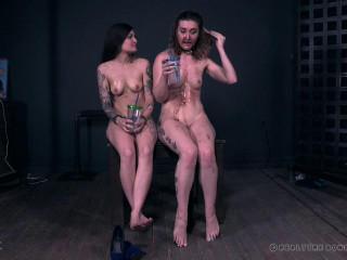 Chocolate Bondage Party With Sexy Kat Monroe