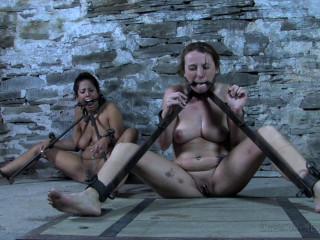 A 2 Girl Predicament bondage Pt. 2