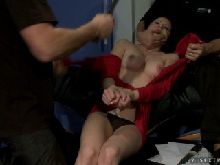 Office of Submission Sybelle Watson Rita Cross - Extreme, Bondage, Caning