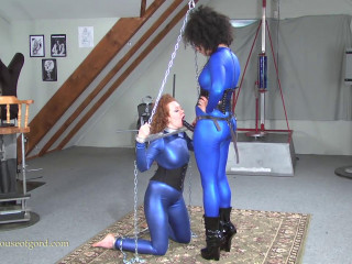 House of Gord -  Metal Bondage Suck Training
