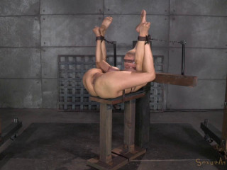 Sexuallybroken - Sep 12, 2014 - Huge jugged Rain DeGrey restrained in stringent bondage