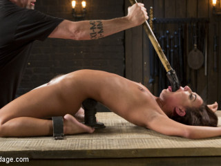 Fresh Meat - Amara Romani is Dominated in Inescapable Bondage