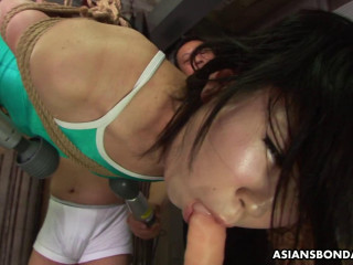 Asiansbondage - Jul 20, 2016 - An Orie in bondage loves some insane frolicking