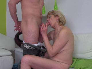 Meriska B - Kinky mature lady fucking and sucking FullHD 1080p