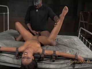 Skin Diamond - Bondage, Rough Fucking and Brutal Deepthroat!