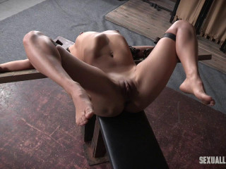 Julia Waters first ever pornography shoot. Brutish mouth fuckings, Anal invasion fucking, with incredible restrain bondage