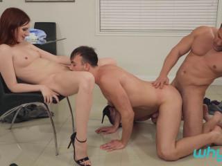 3some Maya Kendrick, Mason Lear & Damien Stone (1080p)