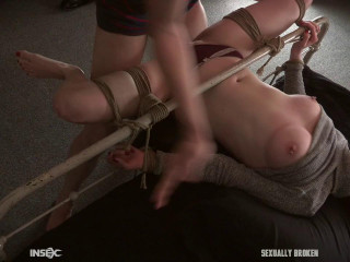 Penny Lay loses her innocence in bondage!