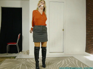 Whitney Explains How an Intruder Hogties Her! - Part 1