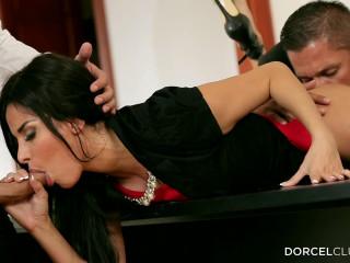 Anissa Kate Hard Dp On The Boss S Desk