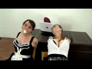 Elizabeth Serene Bound Maid and Mistress Tortured for the Password