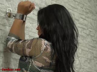 Ilovebondage - 20 Aug, 2016 - Alissa handcuffed to the wall