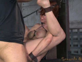 Veronica Avluv roped and fucked tough and hard, hefty splooging numerous orgasms!