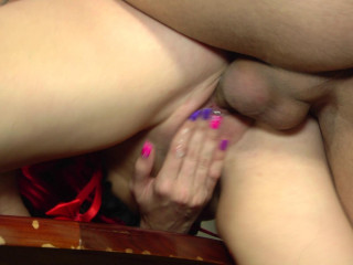 Hot sex with dirty slut in the office