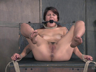 Rope Her and Pole , Bdsm Action