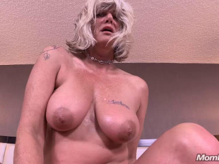 45 year old milf does first porn