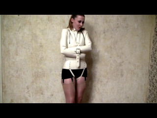 White Straight Jacket, Black Tights