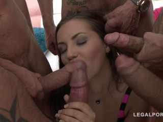 Maria Devine 5on1 Double Anal