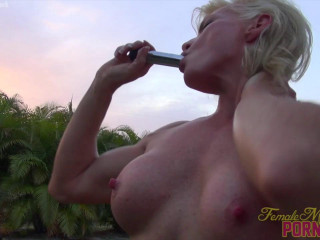 Mandy Foxx - She Likes Her Toy. You'll Like Watching Her Have fun With It