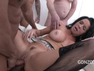 Veronica Avluv Dual Rectal Group sex