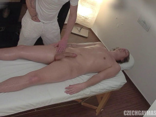 Hidden camera in a massagist