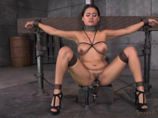 Selma Sins drilled down by two cocks , HD 720p