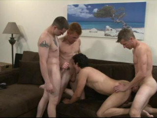 Barebacking Orgy With Gabriel