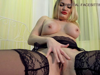 Lick for stockings Domme