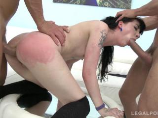 Charlotte Sartre loves 100% anal pounding