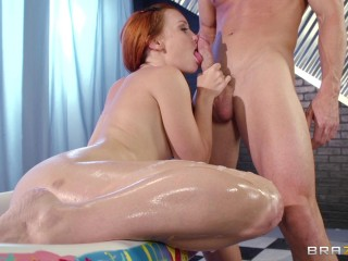 Ginger-haired Ultra-cutie Daydreams About Him All The Time