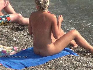 Real nude beaches voyeur shots