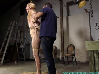 A Tight Box Hogtie for Ariel Anderssen Part 1