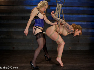 Slave Training Jessie Cox, Day 4 - Submitting to a Goddess