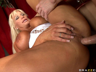 Sultry Cougar Is Sated To Discover That He Will Be Performing