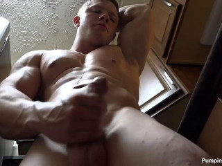 Pumping Muscle - Atticus W Photo Shoot Part 2