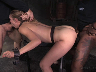Spectacular Mona Wales dicked down by Big black cock in cock-squeezing bondage, meaty dumping numerous orgasms!