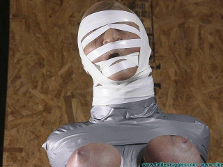 Courtney Mummified Gag Lady 3  part - BDSM,Humiliation,Torture HD 720p