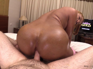 Ning Oil Massage Bareback Hands Free Cum at Same Time HJ